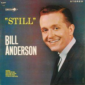 Cover - Bill Anderson: Still