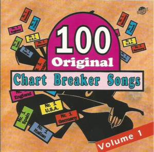 Cover - Bobby Vee: 100 Original Chart Breaker Songs Volume 1
