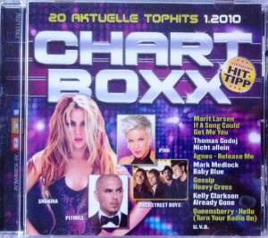 Club Top 13 - 20 Top Hits - Chartboxx 1/2010 - Cover