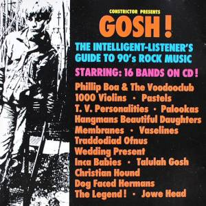 Cover - Pastels, The: Constrictor Presents: Gosh! - The Intelligent-Listener's Guid To 90's Rock Music