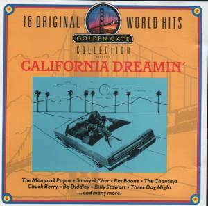 Cover - Chantays, The: 16 Original World Hits - California Dreamin'