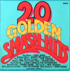 Cover - Browns, The: 20 Golden Smash-Hits