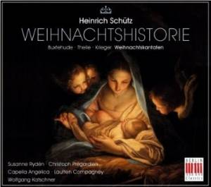 Cover - Johann Theile: Weihnachtshistorie