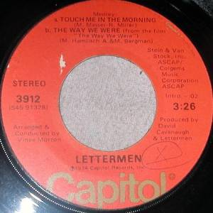 Cover - Lettermen, The: Touch Me In The Morning