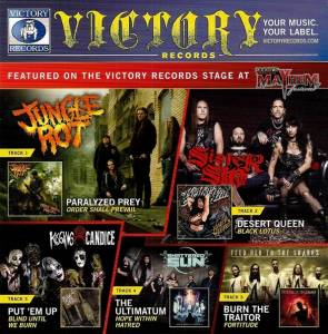 Victory Records 2015 Rockstar Mayhem Festival Sampler - Cover