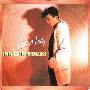 Les McKeown: She's A Lady - Cover