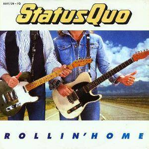 Status Quo: Rollin' Home - Cover