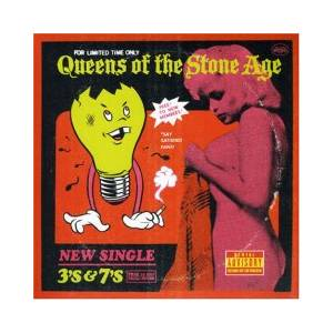 Queens Of The Stone Age: 3's & 7's - Cover