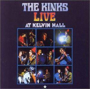 The Kinks: Live At Kelvin Hall - Cover