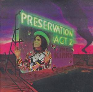 The Kinks: Preservation Act 2 - Cover