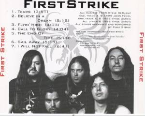 First Strike: First Strike (CD) - Bild 3
