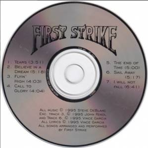 First Strike: First Strike (CD) - Bild 4