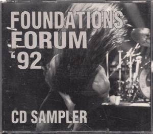 Foundations Forum '92 - CD Sampler - Cover