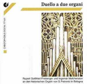 Cover - Girolamo Cavazzoni: Duello a due organi • Vol. 1