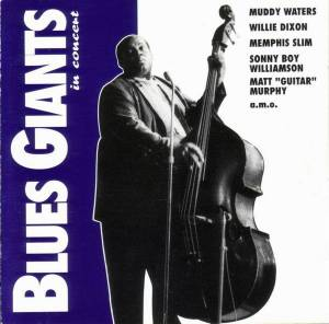Cover - Victoria Spivey: Blues Giants In Concert (More American Folk Blues Festival 1963)