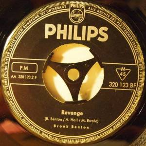 Cover - Brook Benton: Revenge / Walk On By