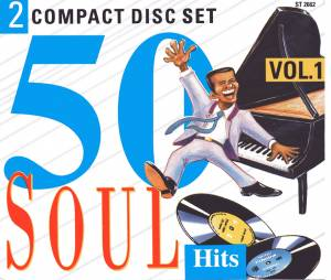 Cover - Robert Parker: 50 Soul Hits Volume 1