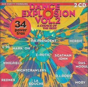 Cover - 20 Fingers Feat. Roula: Dance Explosion Vol. 2