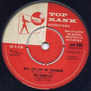 Cover - Shirelles, The: Will You Love Me Tomorrow