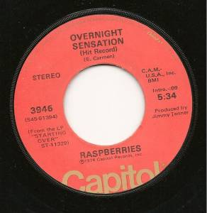 Cover - Raspberries: Overnight Sensation