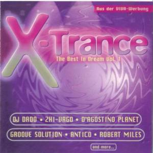 Cover - Space Blaster: X-Trance - The Best In Dream Vol. 1