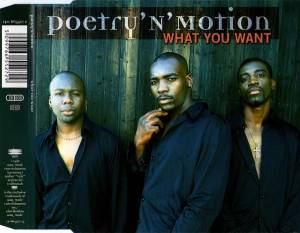 Cover - Poetry 'N' Motion: What You Want