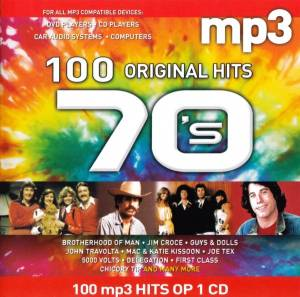 Cover - Milk & Honey: 100 Mp3 Original Hits 70's