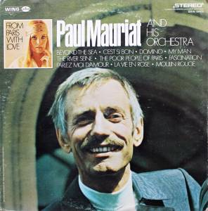 Cover - Paul Mauriat And His Orchestra: From Paris With Love