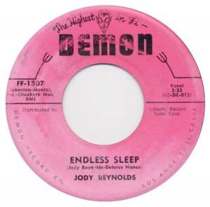 Cover - Jody Reynolds: Endless Sleep