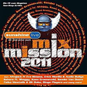 Cover - Vision Factory & Dave McPharrell: Sunshine Live Mix Mission 2011