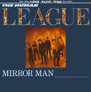 The Human League: Mirror Man - Cover