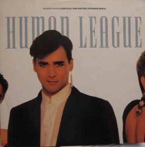 The Human League: Love Is All That Matters - Cover