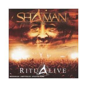 Shaman: Ritualive - Cover
