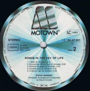 "Stevie Wonder: Songs In The Key Of Life (2-LP + 7"") - Bild 5"