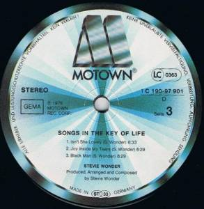 "Stevie Wonder: Songs In The Key Of Life (2-LP + 7"") - Bild 6"