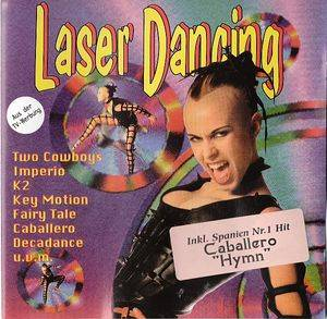 Cover - Amadeus & The Funky Diamonds: Laser Dancing