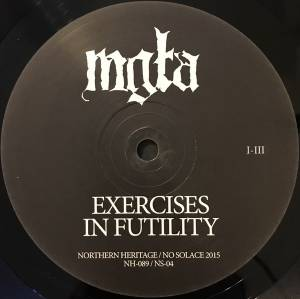 Mgła: Exercises In Futility (LP) - Bild 3
