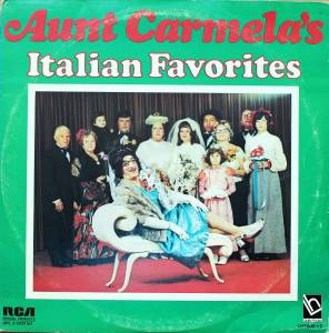 Cover - Frankie Carle: Aunt Carmela's Italian Favorites