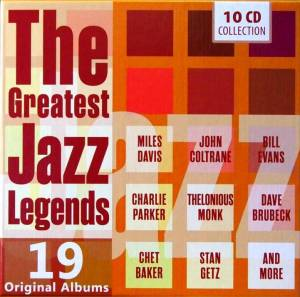 Great Jazz Legends - 19 Original Albums, The - Cover