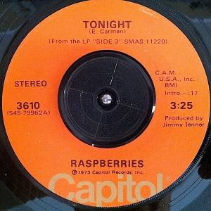 Cover - Raspberries: Tonight