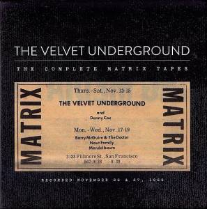 The Velvet Underground: Complete Matrix Tapes, The - Cover