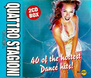 Cover - Rene & Peran: Quattro Stagioni Volume 1 - 40 Of The Hottest Dance Hits!