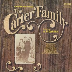 Cover - Carter Family, The: Lonesome Pine Special