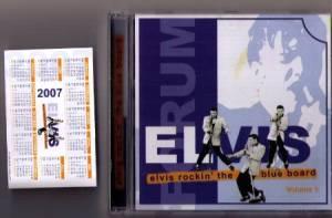 Elvis Presley: Elvis Rockin' The Blue Board Volume I - CD (2007