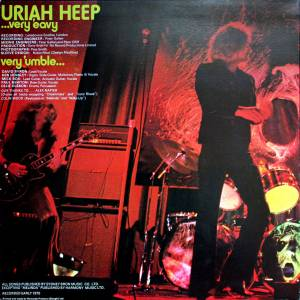 Uriah Heep: ...Very 'eavy ...Very 'umble (LP) - Bild 4