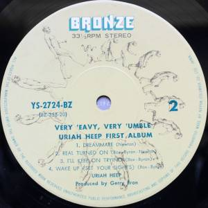 Uriah Heep: ...Very 'eavy ...Very 'umble (LP) - Bild 8