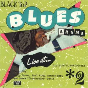 Cover - Nappy Brown: Black Top Blues-A-Rama, Volume 2