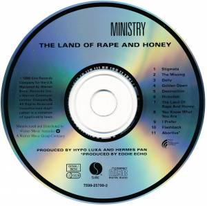Ministry: The Land Of Rape And Honey (CD) - Bild 3