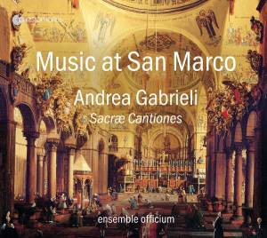 Cover - Andrea Gabrieli: Sacræ Cantiones