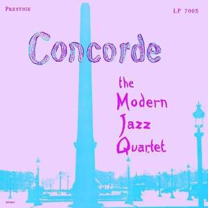 The Modern Jazz Quartet: Concorde - Cover